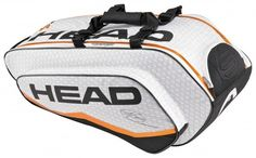 Head provide one of the most comprehensive selection of racket bags to cope with all their different range of tennis rackets. Head Tennis Bag, Tennis Bags, Tennis Gear, Sport Tennis, Racquet Sports, Backpack Straps, Tennis Players, No Equipment Workout, Gym Bag