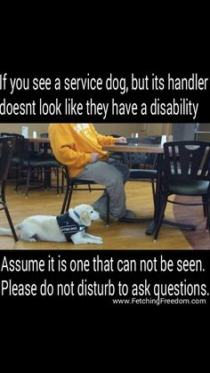 """Hidden """"Invisible"""" Illness have terrible affects on their victims. You may not see it but the needs are real. Service dogs give these people mobility and access. #POTS #cardioalertdog"""