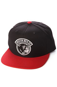 a696f750233 Snapback Fashion Blog Brixton Men s The Growler Hat in Black and Red