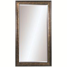 Bassett Mirror Old World Beckett Leaner Mirror