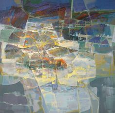 Lau Chun - Untitled Abstract #1 Painting