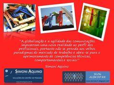 A globalização e o mercado de trabalho, por Simoni Aquino