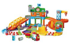 Superb VTech Toot-Toot Drivers Train Set Now at Smyths Toys UK. Shop for VTech Toot Toot At Great Prices. Free Home Delivery for orders over Electronic Toys For Kids, Educational Toys For Kids, Gifts For Boys, Toys For Boys, Kids Toys, Toddler Toys, Toddler Crafts, Train Plan, Sophie Giraffe