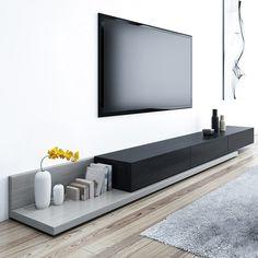 Modern Tv Room, Modern Tv Units, Modern Contemporary Living Room, Tv Unit Decor, Tv Stand Console, Tv Stand Unit, Living Room Tv Unit Designs, Tv Wall Design, Home Room Design