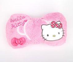 Hello Kitty Throw Cushion: Pink Bow Throw Cushions, Small Gifts, Sanrio, Plushies, Hello Kitty, Bows, Baby Girls, Cute, Pink