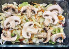 Pasta Salad, Pork, Food And Drink, Chicken, Ethnic Recipes, Diet, Essen, Crab Pasta Salad, Kale Stir Fry