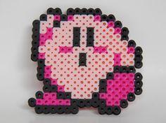 Kirby bead sprite