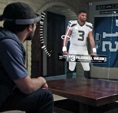 Microsoft HoloLens imagines a new way for viewers to watch football