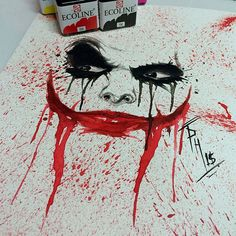 #joker #watercolor @phetattooist