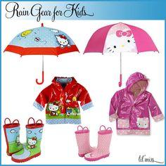 Kids Rain Gear