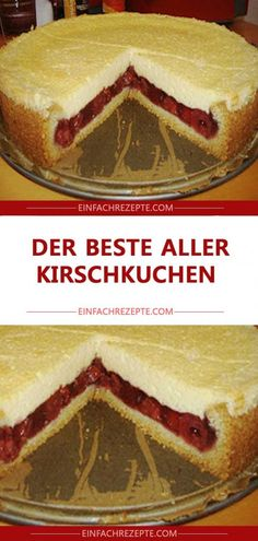 The best of all cherry cake 😍 😍 😍- Der beste aller Kirschkuchen 😍 😍 😍 The best of all cherry cake 😍 😍 😍 - Cake Mix Cookie Recipes, Easy Cheesecake Recipes, Peanut Butter Cookie Recipe, Cake Mix Cookies, Cheesecake Cookies, Cupcakes, Keto Cheesecake, Easy Vanilla Cake Recipe, Chocolate Cake Recipe Easy