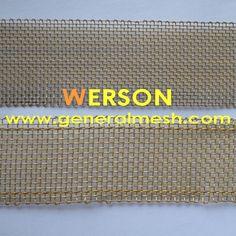 generalmesh 12mesh ,0.35mm wire ,30mm width brass selvage wire mesh ,brass selavage mesh screen ,brass welvage woven wire . Email: sales@generalmesh... skype: jennis01