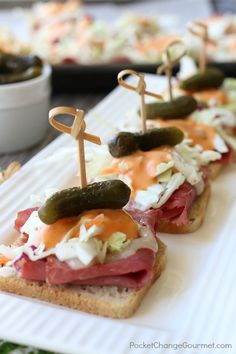 MINI REUBEN APPETIZERS   St. Patrick's Day Recipe and beyond