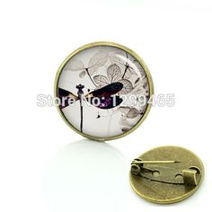 Steam Punk Style Dragonfly pin