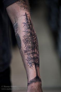 ... 2010 filed under art tattoo portfolio 2010 tagged forest tattoo tree