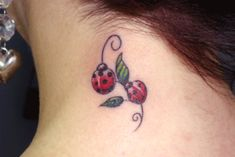 This is the ladybug tattoo I WANTED, instead of the CRAPPY one I ended up with.