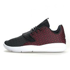 sports shoes e6799 db705 Nike Jordan Eclipse BG Black Gym Red White Youth Kids 5 for sale online