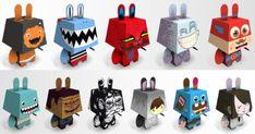 Blog_Paper_Toy_papertoys_Pepetz_V1_Batch