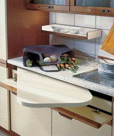 Foto 12 / 35 : Ideias para cozinhas pequenas