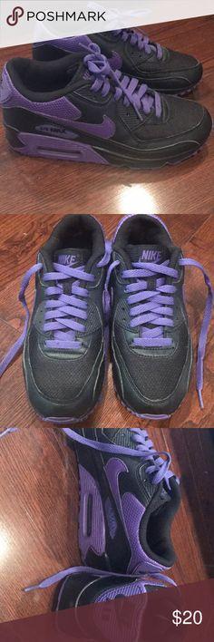 Nike air max black and purple Nike air max black and purple Nike Shoes Sneakers