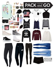 """""""Pack and Go! Six Days For RIO!"""" by ela-abad524 on Polyvore featuring Chicnova Fashion, BCBGMAXAZRIA, Sans Souci, Topshop, Dorothy Perkins, Paige Denim, Alyx, L'Agence, NIKE and Converse"""