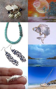 Welcome Summer by Ali on Etsy--Pinned with TreasuryPin.com