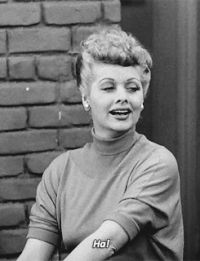 my gif lucille ball i love lucy desi arnaz Lucy Ricardo Ricky Ricardo Hollywood Walk Of Fame, Face Off, I Love Lucy Show, My Love, Classic Hollywood, Old Hollywood, I Love Lucy Costume, Lucy Star, Queens Of Comedy