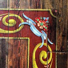 Piso pintado en el hotel Faena por Alfredo Genovese #fileteadoporteño #argentina