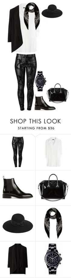 """""""Untitled #712"""" by ale99850 ❤ liked on Polyvore featuring J APOSTROPHE, Robert Friedman, Yves Saint Laurent, Givenchy and Chanel"""