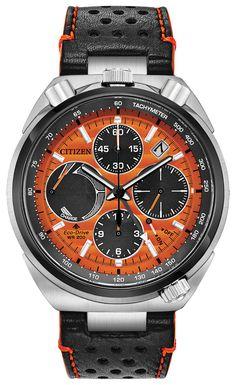-NEW- Citizen Promaster Tsuno Chronograph Racer Eco-Drive Watch Best Watches For Men, Citizen Eco, Thing 1, Beautiful Watches, Amazing Watches, Watch Brands, Seiko, Stainless Steel Case, Luxury Watches