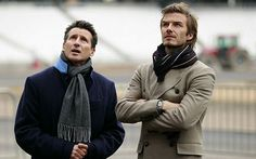A man shall be defined by his scarf - Telegraph. How to wear a scarf the man way.