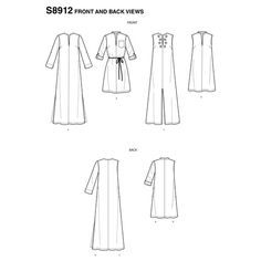 s8912_03 Kilt Pattern, Sewing Blogs, Sewing Ideas, Miss Dress, Simplicity Sewing Patterns, Couture, Simple Dresses, Summer Dresses, Dress Patterns