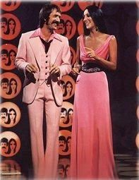 sonny and cher Tv show - my sister and I used to pretend we were them and do our own show!
