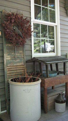 Front Porch Decorating Ideas Summer Country Setting