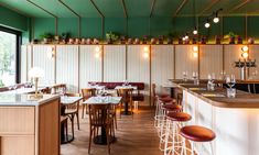 Vesta - Hospitality Snapshots Pizza Restaurant, Restaurant Design, Restaurant Interiors, Pizzeria Design, Restaurant Layout, Cafe Interiors, Modern Restaurant, American Diner, American Restaurant