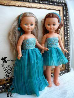 Vestidos low cost de Alta costura , para Nancy y Pepa SOLO QUEDA UNO CORTO