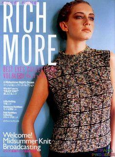 Rich More Vol.84 - Китайские, японские - Журналы по рукоделию - Страна рукоделия