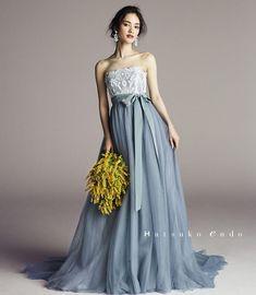 いいね!689件、コメント3件 ― ハツコ エンドウさん(@hatsuko_endo)のInstagramアカウント: 「Visual photo✨ ◎Dress:Hatsuko Endo_Original/No.8230(Clara/Blue Gray)…」