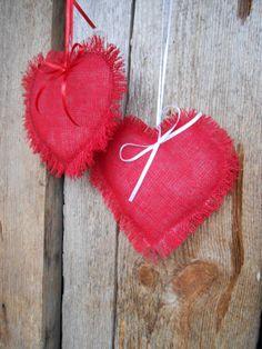 Valentine Day Decor Valentine Heart Hanging Heart by Vivicreative