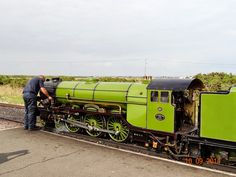'Green Goddess' on the RH&DR at Dungeness