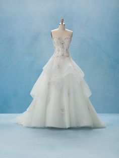 Alfred Angelo Bridal Style 217 from Disney Fairy Tale Bridal: Belle