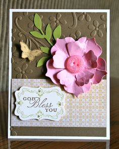 Stampin' Up! Card by Krystals Cards and More: More Elegant Blessings!!