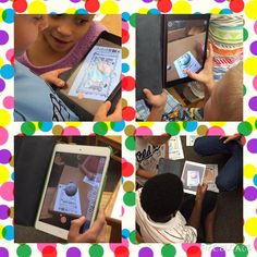 Students had a blast bringing their unique dots to life using the augmented reality app, Quiver! #whywisd #DotDay15