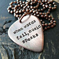 Music makes life colorful