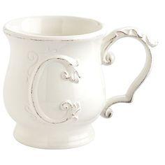 Elizabeth Monogram Mug - C