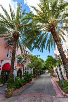 Espanola Way Village-Miami Beach-Florida http://www.henryfoto.com