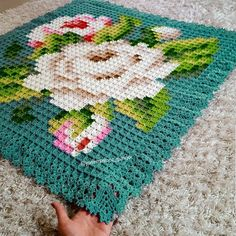 Quick And Easy FREE Crochet Blanket Patterns For Beauty Homes! - Page 49 of 49 - Daily Crochet! # crochet blanket patterns free quick Quick And Easy FREE Crochet Blanket Patterns For Beauty Homes! - Page 49 of 49 - Daily Crochet! Pixel Crochet Blanket, Crochet Blanket Patterns, Baby Blanket Crochet, Knitting Patterns, Crochet Quilt Pattern, Crochet Blankets, Knitting Ideas, Quilt Patterns, Crochet For Beginners Blanket