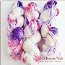 100g Overwashed Colour Yarn - LUX SOCK PASSION