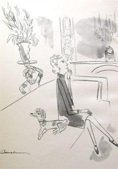 Illustration of Elsie of Elsie De Wolfe