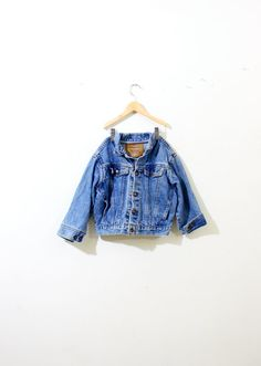 Vintage Levi's kids boy jean jacket by ThisVintageGirl on Etsy, $45.00
